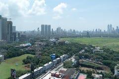 Horizonte de Bombay Fotografía de archivo