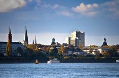 Horizonte de Bonn, Alemania Fotos de archivo