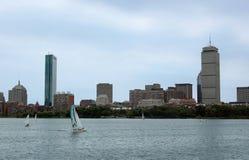 Horizonte de Boston imagen de archivo libre de regalías