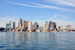 Horizonte de Boston Fotos de archivo