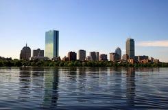 Horizonte de Boston Fotos de archivo libres de regalías