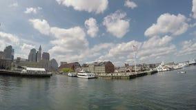Horizonte de Boston, Massachusetts, los E almacen de video