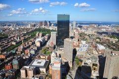 Horizonte de Boston, Massachusetts, los E.E.U.U. fotografía de archivo