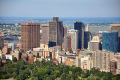 Horizonte de Boston, Massachusetts, los E.E.U.U. Imagen de archivo libre de regalías