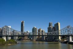 Horizonte de Brisbane imagen de archivo libre de regalías
