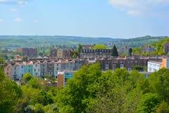 Horizonte de Bristol Fotografía de archivo libre de regalías