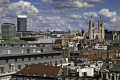 Horizonte de Bruselas Foto de archivo libre de regalías