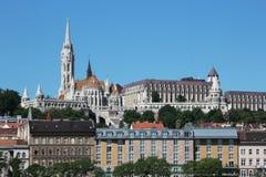 Horizonte de Budapest Fotos de archivo libres de regalías