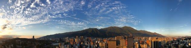 Horizonte de Caracas imagen de archivo