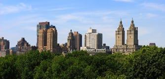 Horizonte de Central Park Foto de archivo libre de regalías