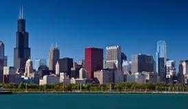 Horizonte de Chicago. imagen de archivo libre de regalías