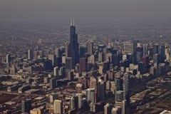 Horizonte de Chicago Foto de archivo