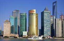 Horizonte de China Shangai Imágenes de archivo libres de regalías