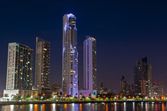 Horizonte de ciudad de Panamá Fotos de archivo libres de regalías