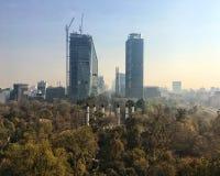 Horizonte de Ciudad de México Imágenes de archivo libres de regalías