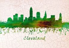 Horizonte de Cleveland Ohio libre illustration