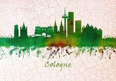 Horizonte de Colonia Alemania libre illustration