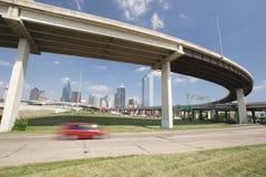 Horizonte de Dallas Fotografía de archivo libre de regalías