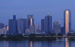 Horizonte de Dallas Fotografía de archivo