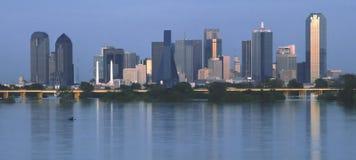 Horizonte de Dallas Imágenes de archivo libres de regalías