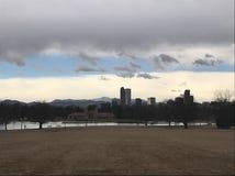 Horizonte de Denver foto de archivo libre de regalías