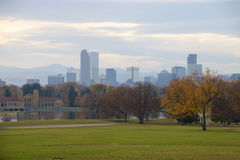 Horizonte de Denver Imagen de archivo