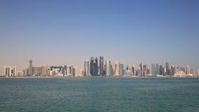 Horizonte de Doha céntrico metrajes