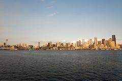 Horizonte de Dowtown Seattle Fotos de archivo libres de regalías