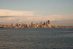 Horizonte de Dowtown Seattle Fotografía de archivo