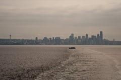 Horizonte de Dowtown Seattle Foto de archivo