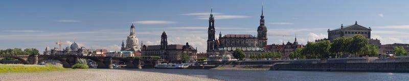 Horizonte de Dresden Imagen de archivo libre de regalías