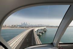Horizonte de Dubai Foto de archivo libre de regalías