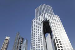 Horizonte de Dubai, UAE Imágenes de archivo libres de regalías