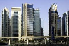 Horizonte de Dubai, United Arab Emirates Imagen de archivo libre de regalías