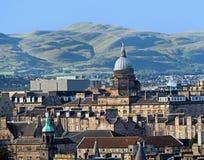 Horizonte de Edimburgo Fotos de archivo libres de regalías