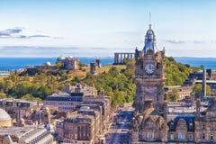 Horizonte de Edimburgo Imagen de archivo