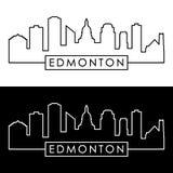 Horizonte de Edmonton estilo linear