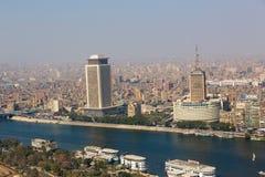 Horizonte de El Cairo - Egipto Foto de archivo libre de regalías
