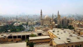 Horizonte de El Cairo islámico, Egipto almacen de metraje de vídeo