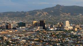 Horizonte de El Paso Fotos de archivo