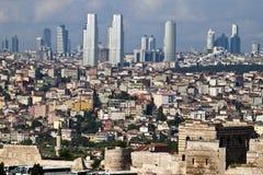 Horizonte de Estambul Foto de archivo libre de regalías