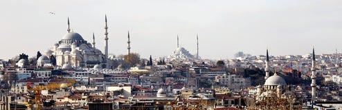 Horizonte de Estambul Imagen de archivo libre de regalías