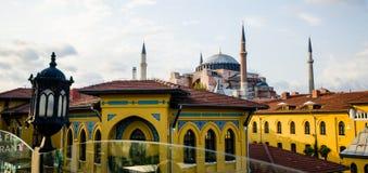 Horizonte de Estambul Fotos de archivo