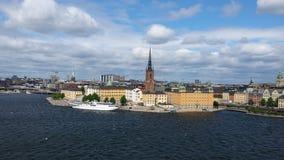 Horizonte de Estocolmo Fotos de archivo