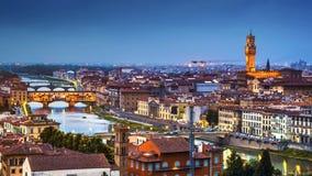 Horizonte de Florencia Foto de archivo libre de regalías