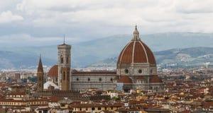 Horizonte de Florencia fotografía de archivo