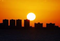 Horizonte de Fort Lauderdale Fotografía de archivo libre de regalías