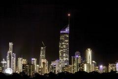 Horizonte de Gold Coast Fotografía de archivo libre de regalías