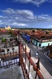 Horizonte de Granada fotografía de archivo