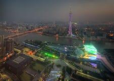 Horizonte de Guangzhou fotografía de archivo libre de regalías